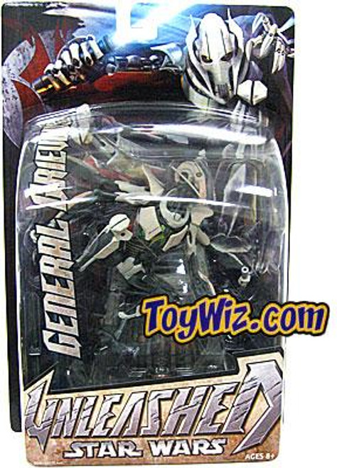 Star Wars Revenge of the Sith Unleashed 2005 General Grievous Action Figure