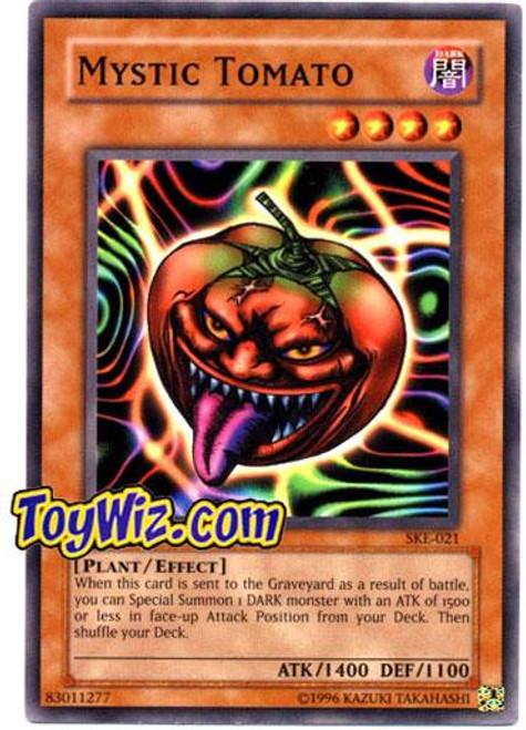 YuGiOh Kaiba Evolution Common Mystic Tomato SKE-021