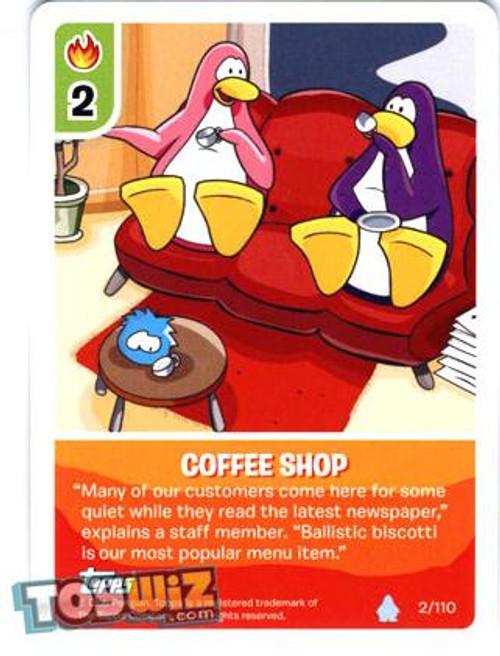 Club Penguin Card-Jitsu Basic Series 1 Common Coffee Shop #2
