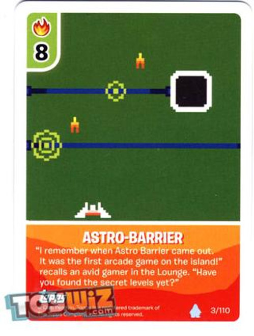 Club Penguin Card-Jitsu Basic Series 1 Common Astro-Barrier #3