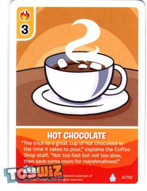 Club Penguin Card-Jitsu Basic Series 1 Common Hot Chocolate #4
