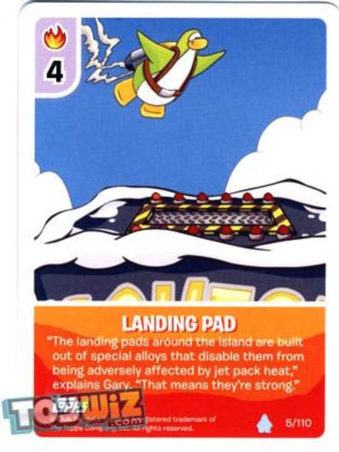 Club Penguin Card-Jitsu Basic Series 1 Common Landing Pad #5