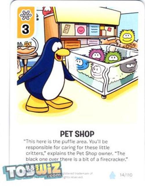 Club Penguin Card-Jitsu Basic Series 1 Common Pet Shop #14