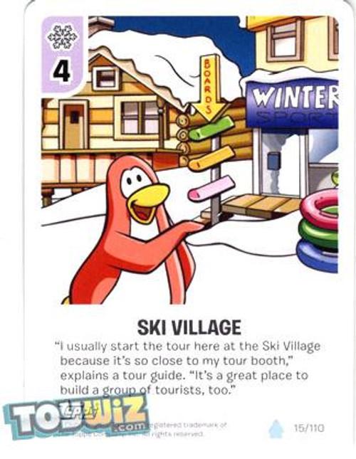 Club Penguin Card-Jitsu Basic Series 1 Common Ski Village #15