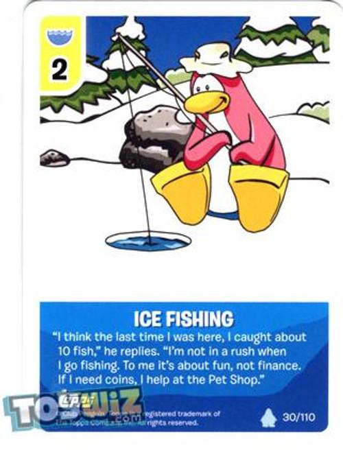 Club Penguin Card-Jitsu Basic Series 1 Common Ice Fishing #30