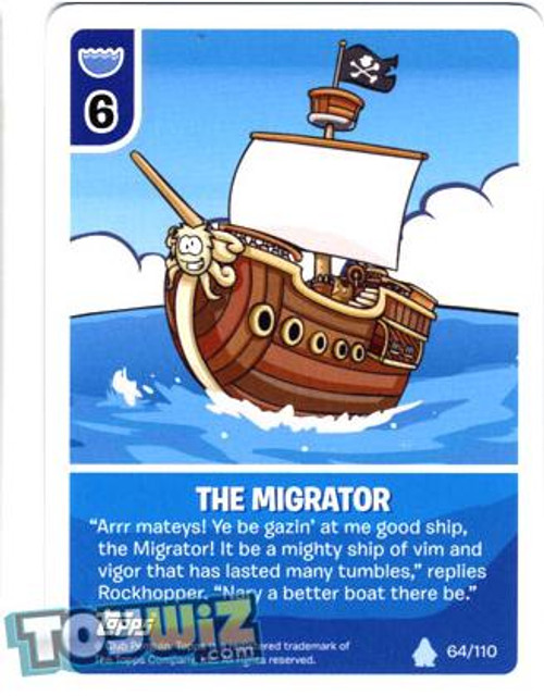 Club Penguin Card-Jitsu Basic Series 1 Common The Migrator #64