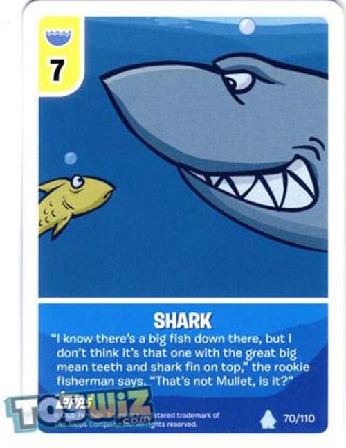 Club Penguin Card-Jitsu Basic Series 1 Common Shark #70