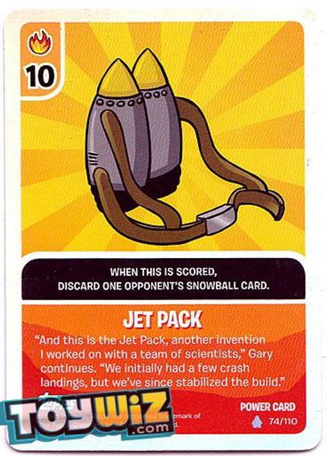 Club Penguin Card-Jitsu Basic Series 1 Foil Power Card Jet Pack #74