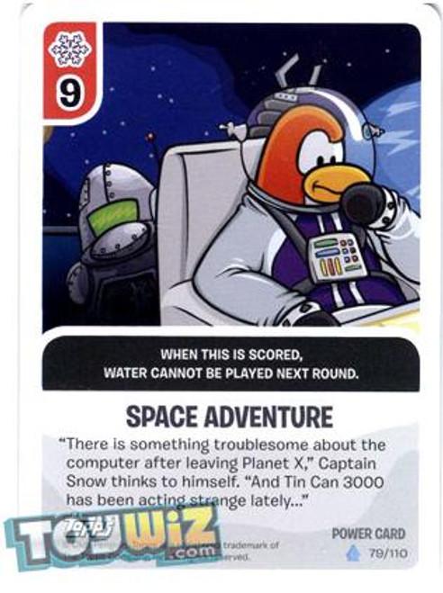 Club Penguin Card-Jitsu Basic Series 1 Foil Power Card Space Adventure #79