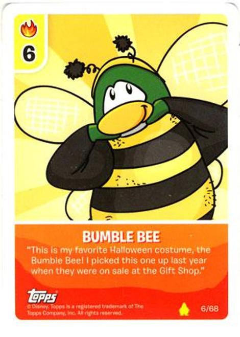 Club Penguin Card-Jitsu Basic Series 2 Common Bumble Bee #6