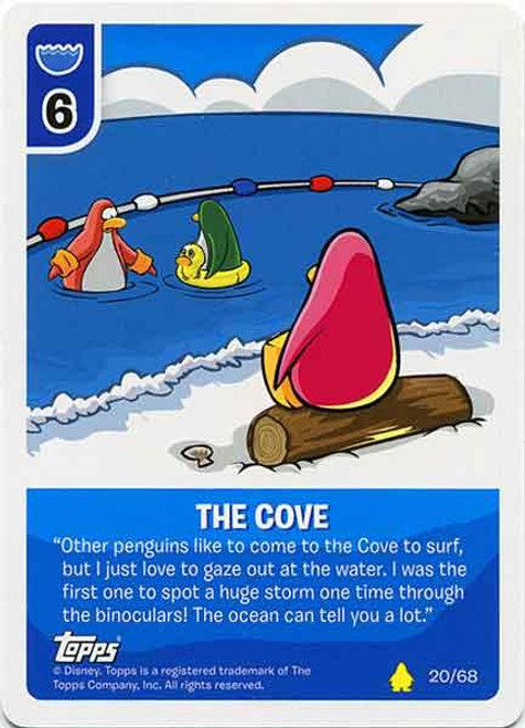 Club Penguin Card-Jitsu Basic Series 2 Common The Cove #20
