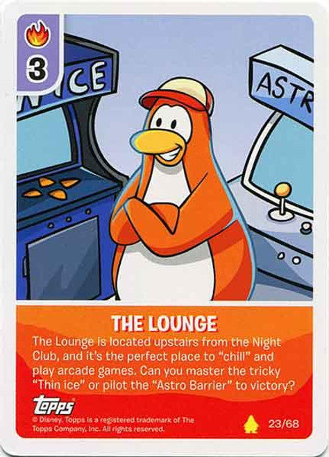 Club Penguin Card-Jitsu Basic Series 2 Common The Lounge #23