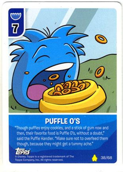 Club Penguin Card-Jitsu Basic Series 2 Common Puffle-O's #38