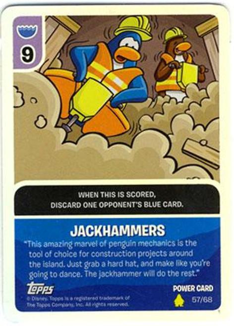 Club Penguin Card-Jitsu Basic Series 2 Foil Power Card Halloween Party #55