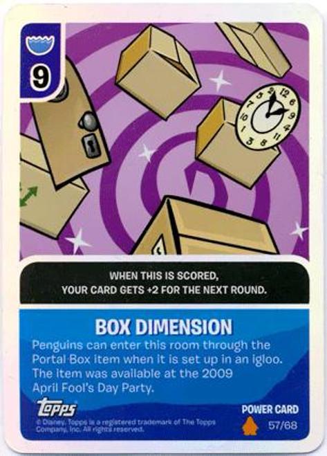 Club Penguin Card-Jitsu Fire Series 3 Foil Power Card Box Dimension #57