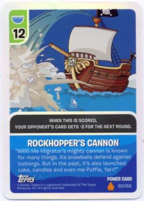 Club Penguin Card-Jitsu Fire Series 3 Foil Power Card Rockhopper's Cannon #60