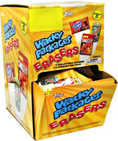 Wacky Packages Erasers Series 1 Booster Box