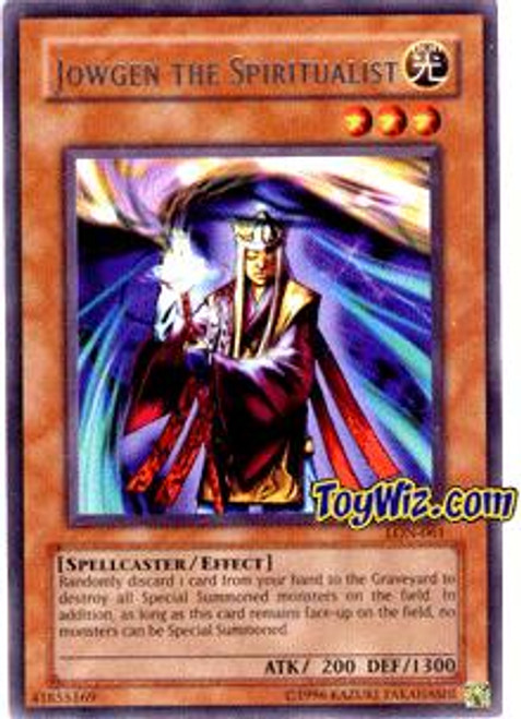 YuGiOh Labyrinth of Nightmare Rare Jowgen the Spiritualist LON-061