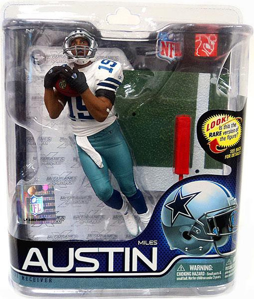 McFarlane Toys NFL Dallas Cowboys Sports Picks Series 27 Miles Austin Action Figure #19 [Jersey #19]