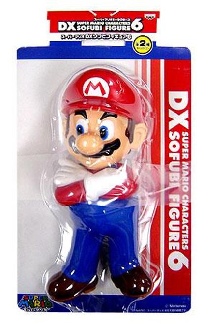 Super Mario DX Sofubi Series 6 Mario 9-Inch Vinyl Figure [Arms Crossed]