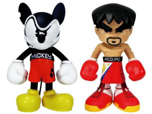 Disney Mickey Mouse Promoters of Peace 8-Inch Figure Set