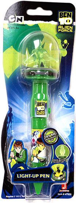 Ben 10 Alien Force Jetray Light-Up Pen