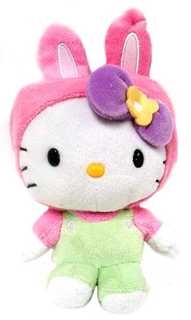 Hello Kitty Pink Bunny Ears Plush