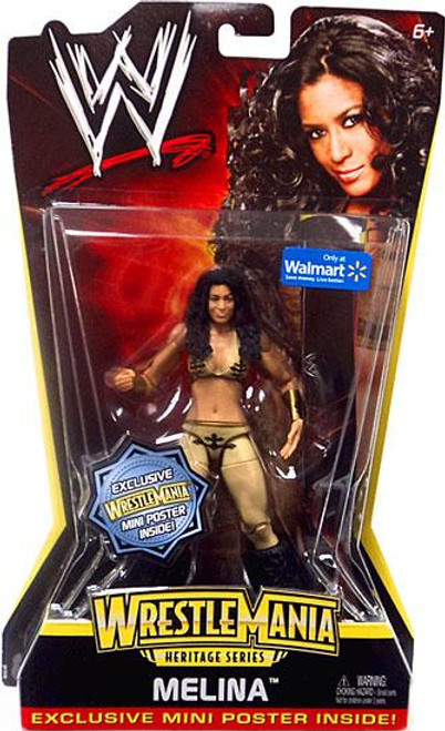 WWE Wrestling WrestleMania Heritage Series 2 Melina Exclusive Action Figure