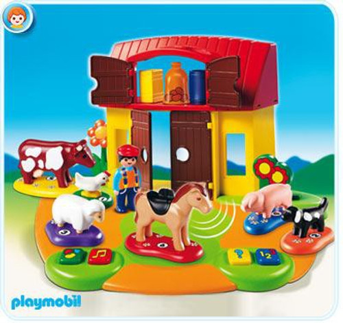 Playmobil Interactive Play and Learn 1.2.3 Farm Set #6766