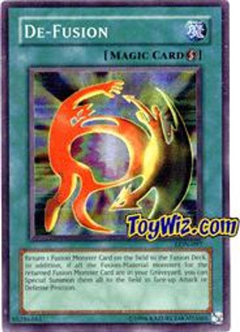 YuGiOh Labyrinth of Nightmare Rare De-Fusion LON-097