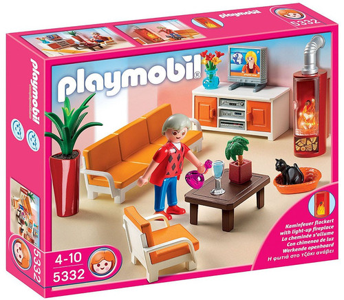 Playmobil Doll's House Comfortable Living Room Set #5332