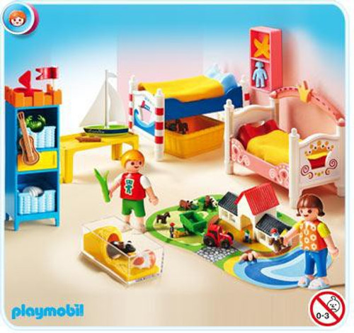 Playmobil Doll's House Boy and Girl Room Set #5333