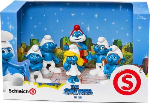 The Smurfs Figure Set