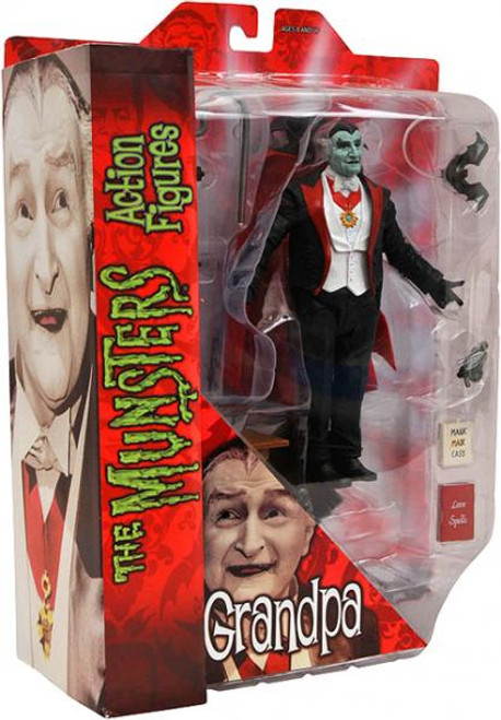 The Munsters Grandpa Munster Action Figure