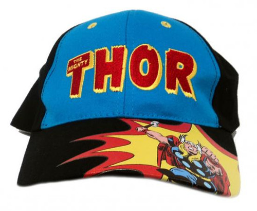 The Mighty Thor Baseball Cap [Blue Front Panel]