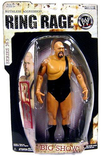 WWE Wrestling Ruthless Aggression Series 38.5 Ring Rage Big Show Action Figure