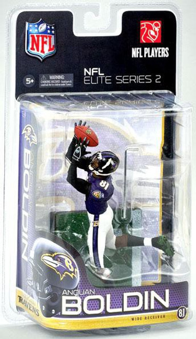 McFarlane Toys NFL Baltimore Ravens Sports Picks Elite 2011 Series 2 Anquan Boldin Exclusive Action Figure