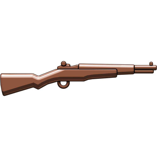 BrickArms Weapons M1 Garand WWII Rifle 2.5-Inch [Brown]