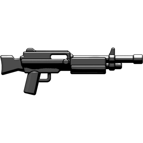 BrickArms Weapons Combat LMG 2.5-Inch [Black]