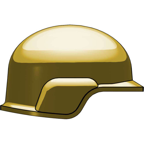 BrickArms Headgear Modern Combat Helmet 2.5-Inch [Dark Tan]