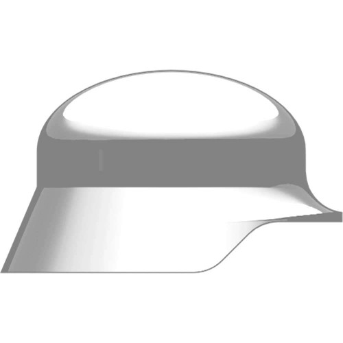 BrickArms Headgear Stahlhelm 2.5-Inch [White]