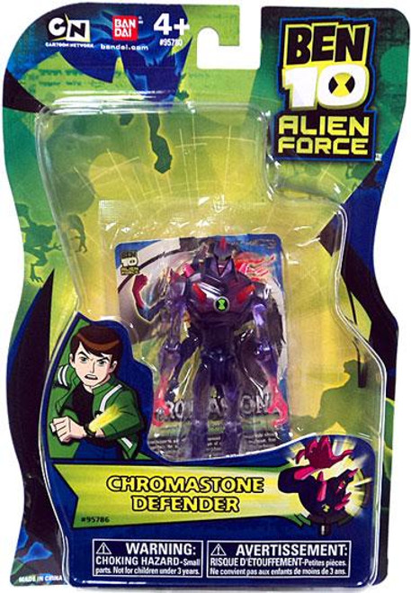 Ben 10 Alien Force Chromastone Action Figure [Defender, No Mini Alien]