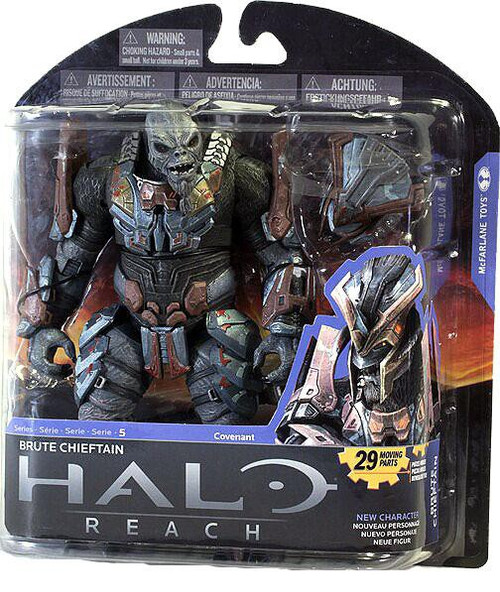 McFarlane Toys Halo Reach Series 5 Brute Chieftain Action Figure