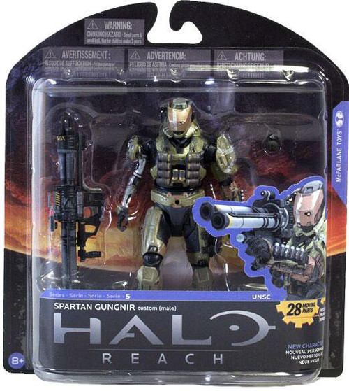 McFarlane Toys Halo Reach Series 5 Spartan Gungnir Action Figure