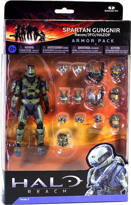 McFarlane Toys Halo Reach Series 5 Spartan Gungnir Armor Pack [Sage]