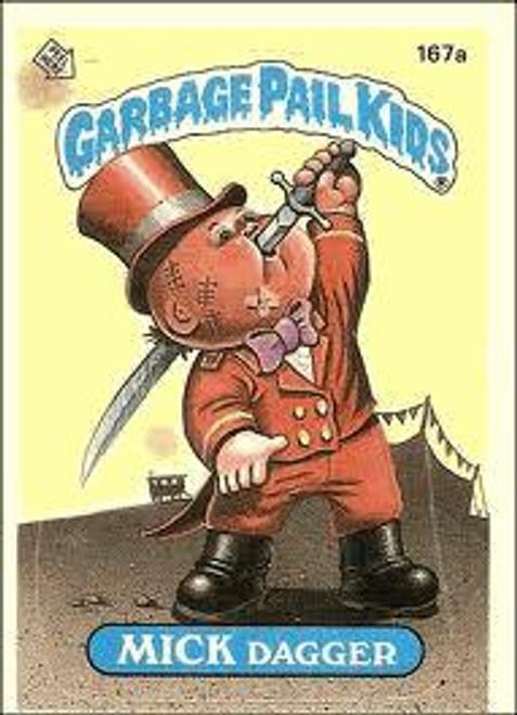 Garbage Pail Kids Original 1980's Series 5 Complete Set