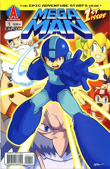 Mega Man 1st Issue Comic Book #1