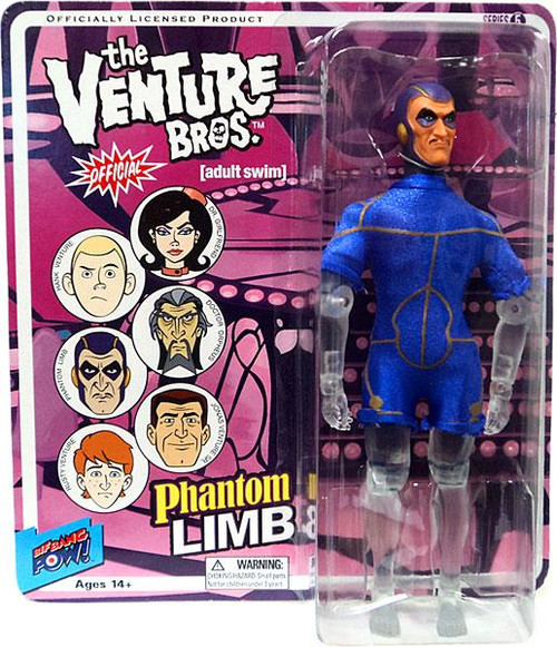 The Venture Bros. Series 5 Phantom Limb Action Figure