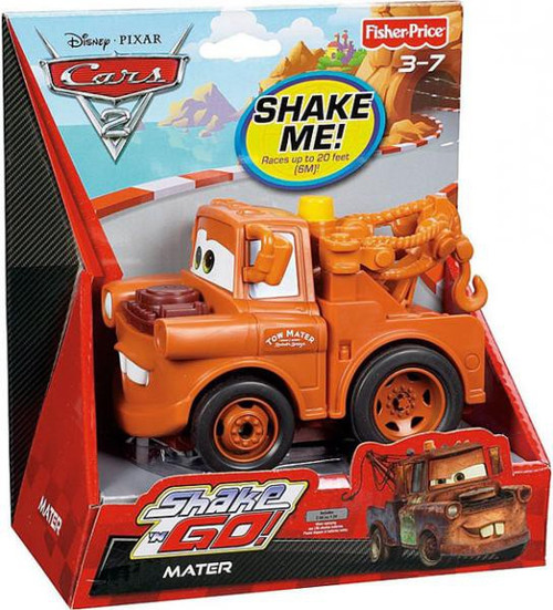 Fisher Price Disney Cars Cars 2 Shake 'N Go Mater Shake 'N Go Car