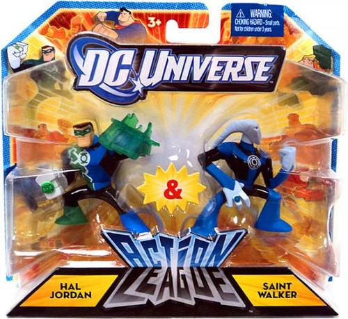 DC Universe Green Lantern Action League Hal Jordan & Saint Walker 3-Inch Mini Figures